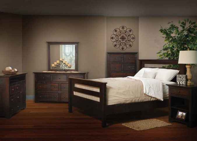 Rail-Bed-Solid-Wood-Bedroom-Suite-Dreamland-Mattress-Furniture
